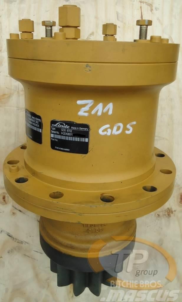 Linde CAT M312 M315 GD5 Schwenkgetriebe Z11
