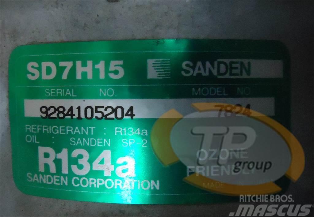 Sanden 7824 SD7H15 Sanden Compressor, 2014, Övriga