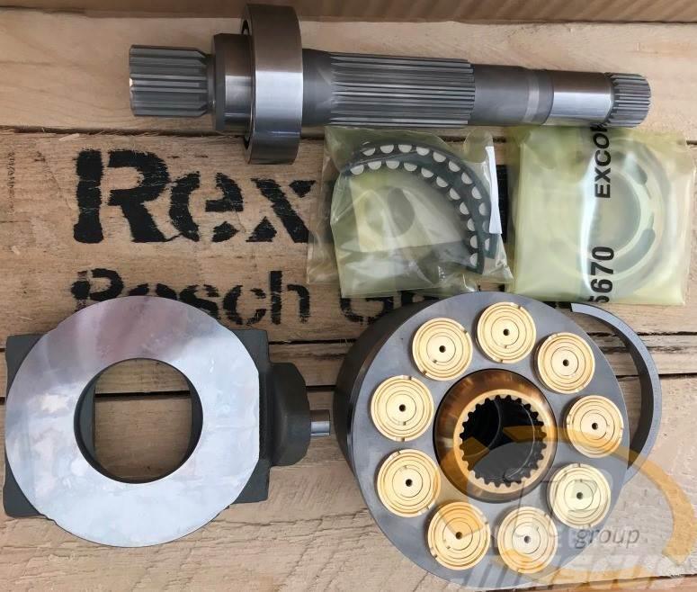 Rexroth R902195458 Triebwerk A4VG90