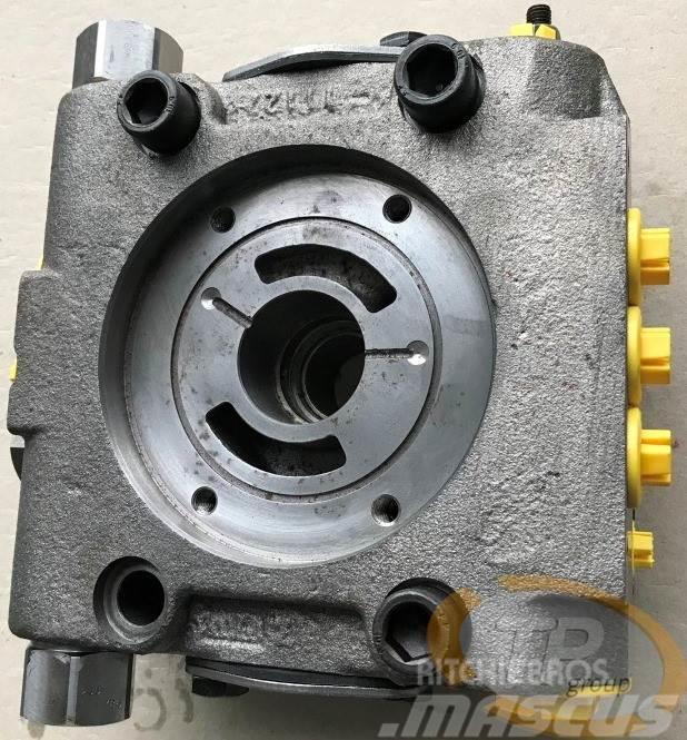 Rexroth R909609340 Anschlussplatte A4VG