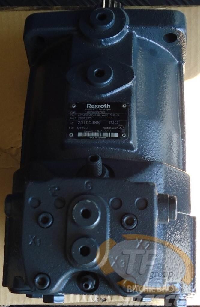 Rexroth Sennebogen ZM13 Verstellmotor
