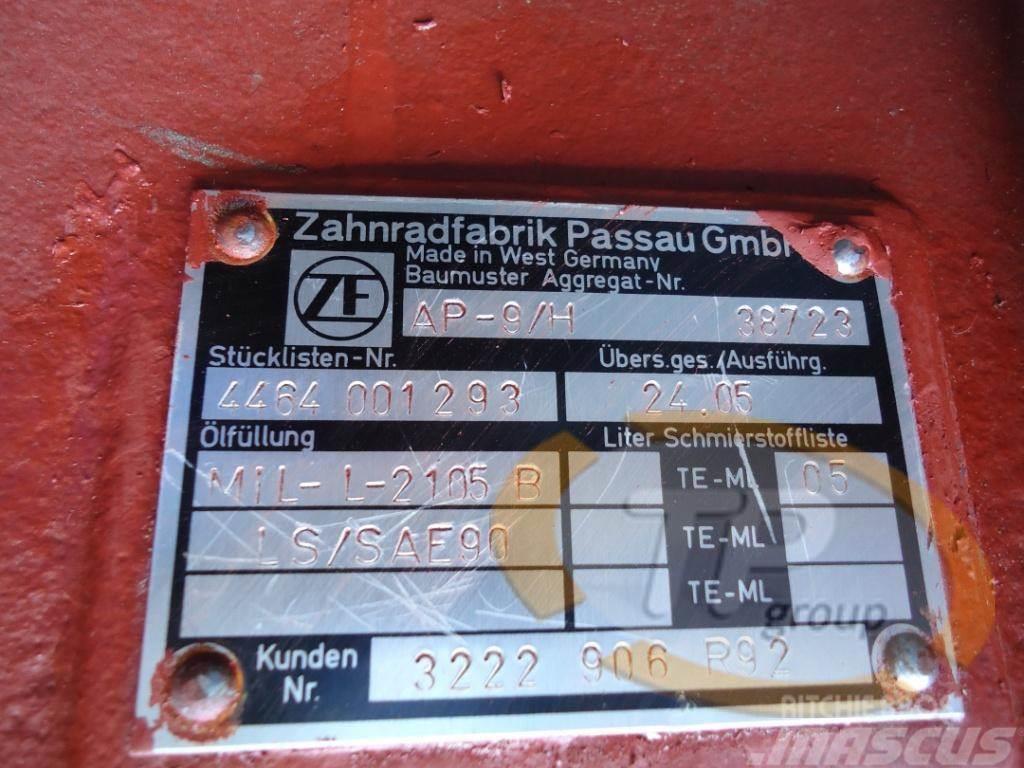 ZF AP9/H ZF Achse, 2014, Övriga