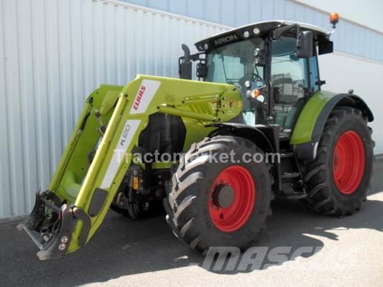 CLAAS ARION 550 CEBIS T4