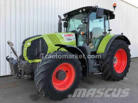 CLAAS ARION 640 ARION 640 CIS T4I