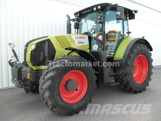 CLAAS ARION 650 CEBIS T4