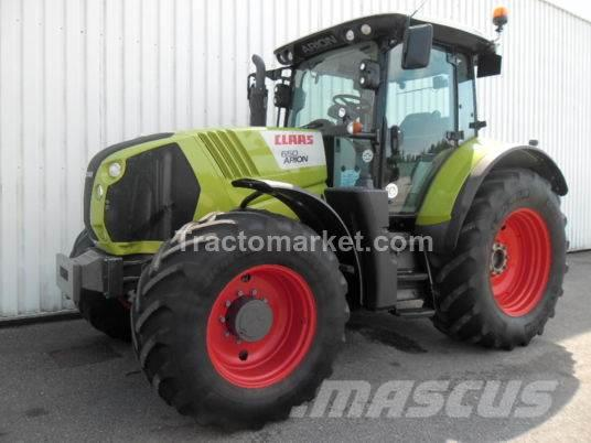 CLAAS ARION 650 CIS T4
