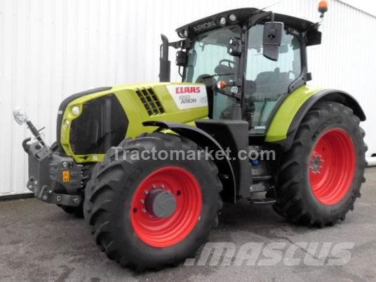 CLAAS ARION 650 ARION 650 CMATIC T4F 50KM/H