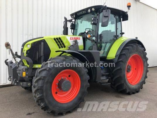 CLAAS ARION 650 CIS T4 50KM/H