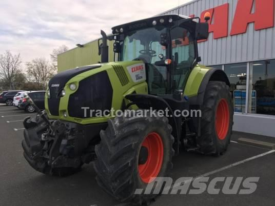 CLAAS AXION 810 Cebis T4f