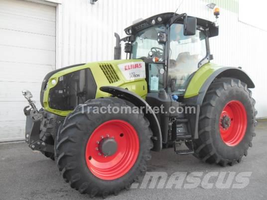 CLAAS AXION 810 CMATIC T4