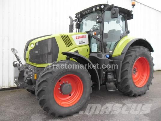 CLAAS AXION 830 CEBIS T4