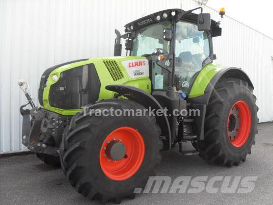 CLAAS AXION 850 CIS T4 FCU