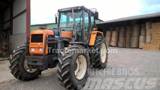 renault 110 54 tractors price 11 111 mascus uk. Black Bedroom Furniture Sets. Home Design Ideas