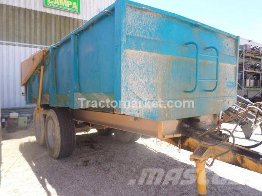 Rolland BH 10, 1984, Tipper trailers