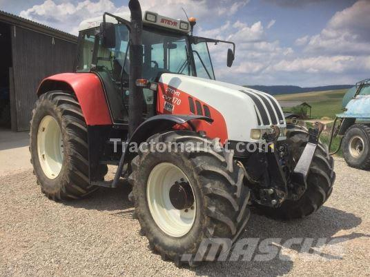 Used Steyr CVT 170 tractors Year 2003 Price $29,670 fo