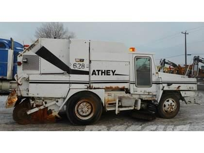 Athey M9 Single Axle Mobile Street Sweeper