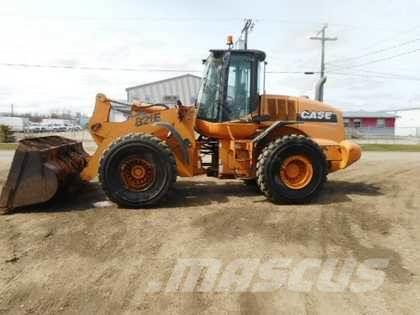 CASE 821E WHEEL LOADER