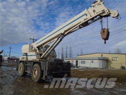 CASE DROTT 1800CC ROUGH TERRAIN CRANE