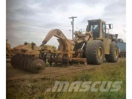 Caterpillar 834B Wheel Loader With Front Mounted Disc