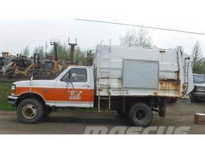 Ford F450 Side Loader Garbage Truck