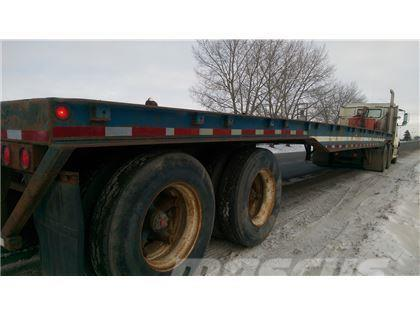 Fruehauf 48' 6 x 8' 6 Tandem Axle Oilfield Float