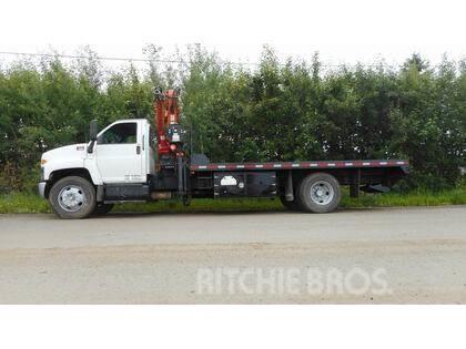 GMC C7500 S/A W/ TERESX 145CS BOOM TRUCK