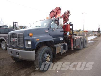 GMC C8500 T/A PICKER WINCH TRUCK