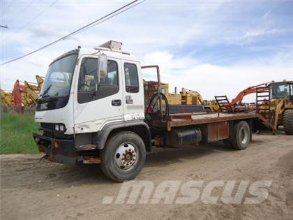 GMC T7500 COE S/A FLATBED TRUCK