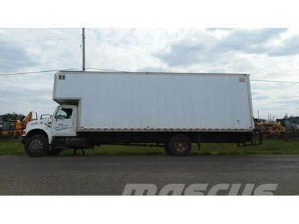 International 4700 Single Axle Van Truck