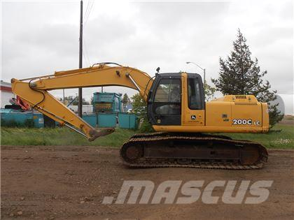 John Deere 200C LC Hydraulic Excavator