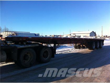 Lode King 48FT TRIDEM HIGHBOY, 1995, Flatbed/Dropside semi-trailers