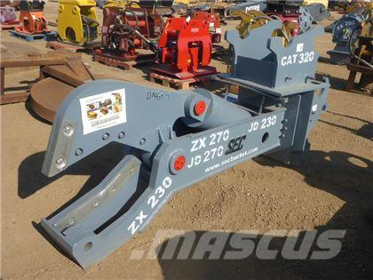 SEC Buckets SEC Q/C EXCAVATOR SHEAR (UNUSED)