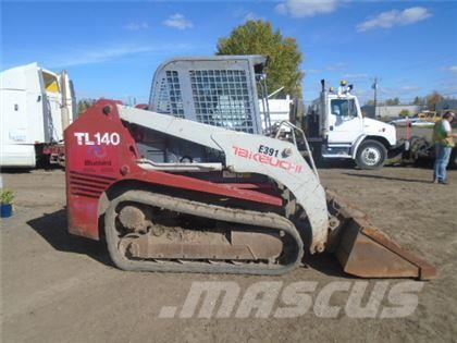 Takeuchi TL140 2 SPD HIGH FLOW MULTI TERRAIN LOADER