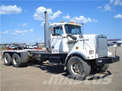 Western Star 4864 2 T A CAB CHASSIS 1988 Chassis Cab