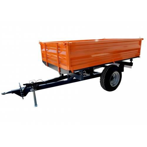[Other] garden trailer with a capacity of 2 tons, with 3-w