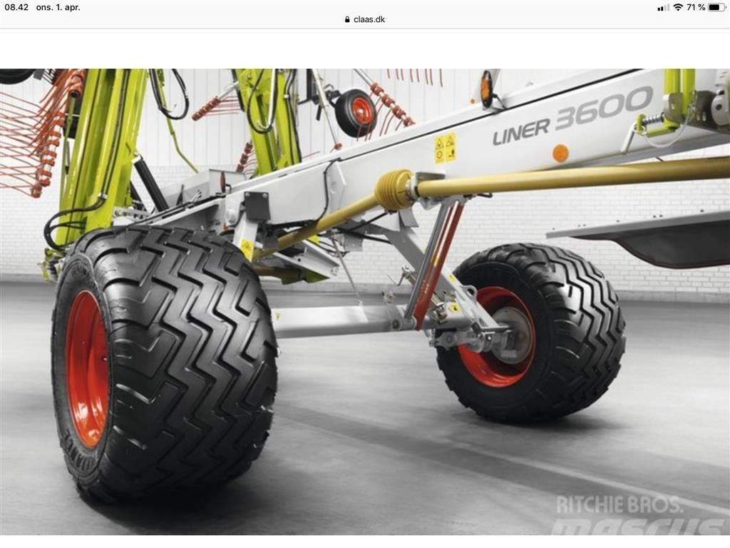 CLAAS Liner 3600 Comfort HHV (Hydraulisk indstilling af