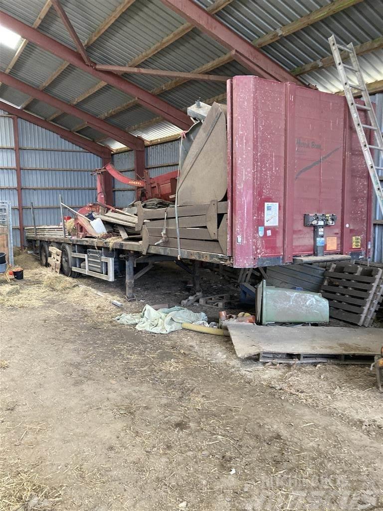 Kel-Berg 12,5 meter Flad lad trailer