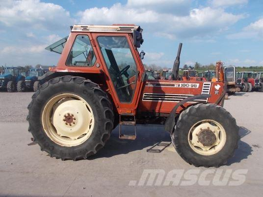 Fiat 100 90 Tractor : Used fiat agri tractors year price