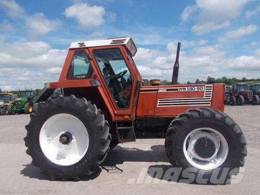 used fiat agri 180 90 tractors year 1990 price 16 719 for sale mascus usa. Black Bedroom Furniture Sets. Home Design Ideas