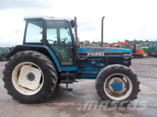 Ford 7840 SLDP, 1995, Tractores agrícolas