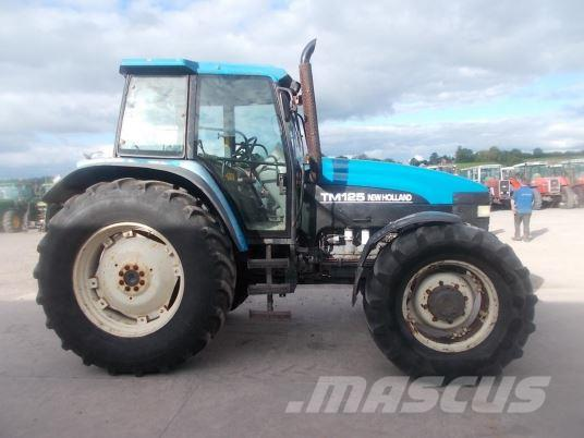 New Holland TM125 Classic, 2001, Tractores agrícolas
