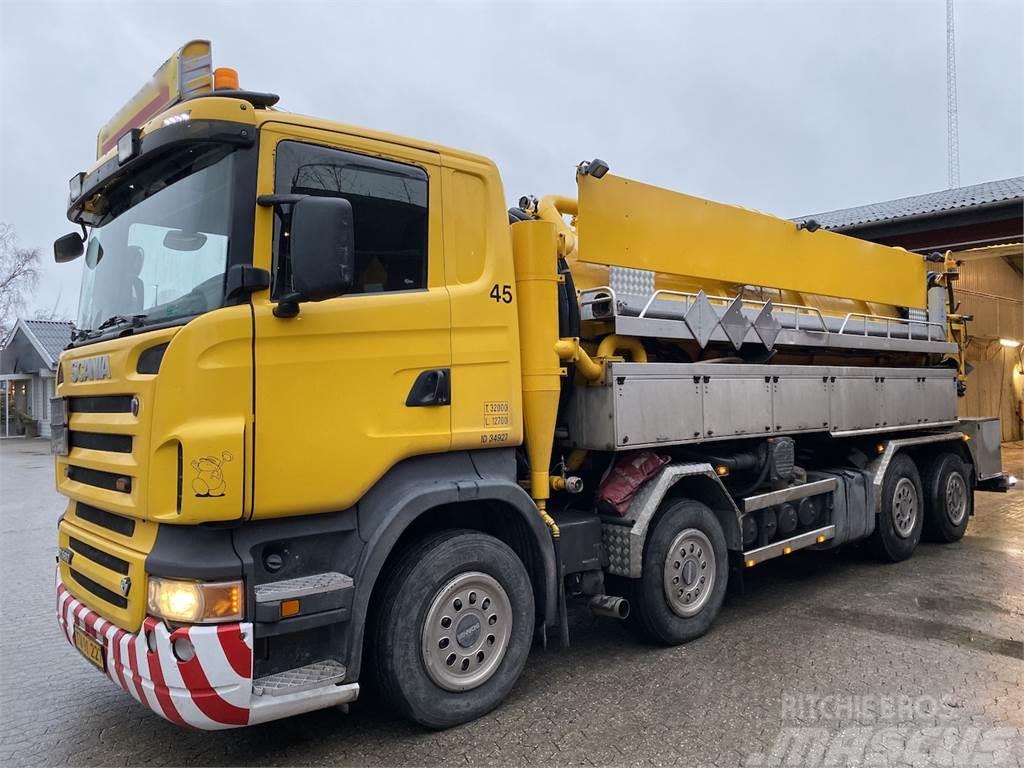 Scania R580 ADR & Miljøfilter