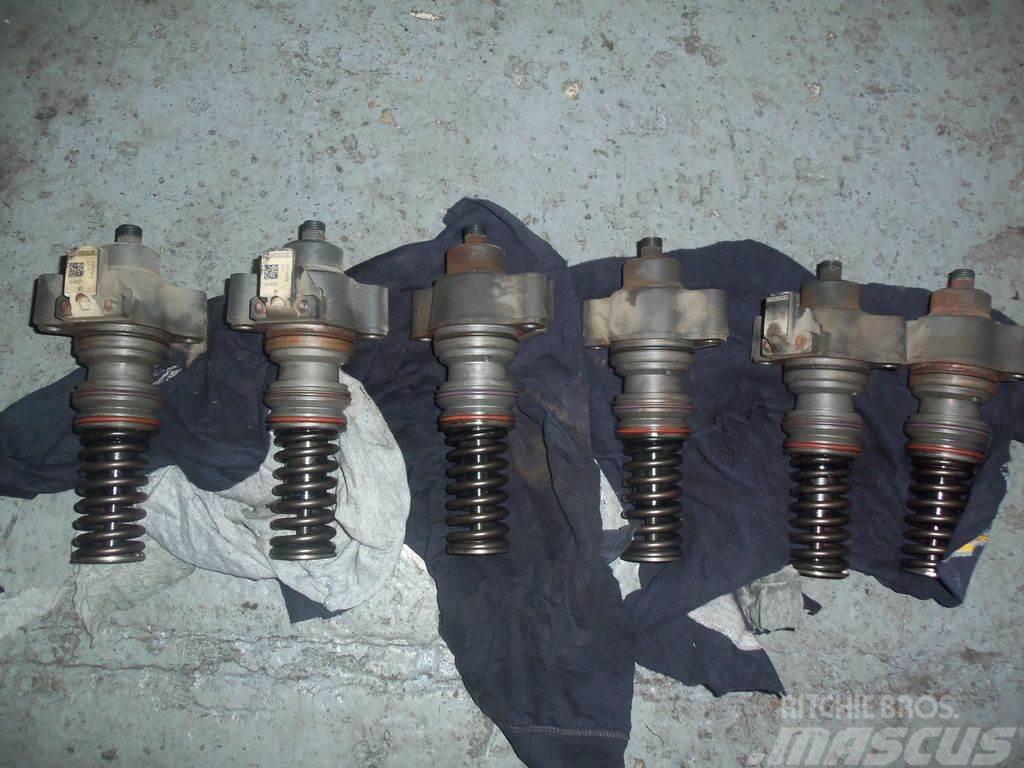 DAF 105XF, EURO5, injectors unit, DELPHI