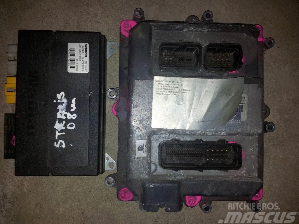 Iveco STRALIS, EURO5 450PS ECU engine computer EDC set_electronics