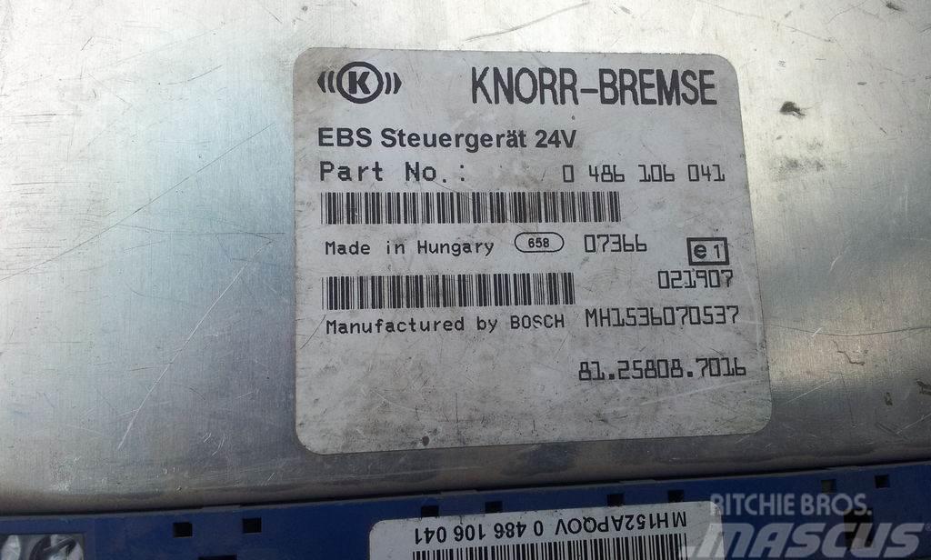 MAN electronic brake system EBS, ECU, 81258087053, KNO