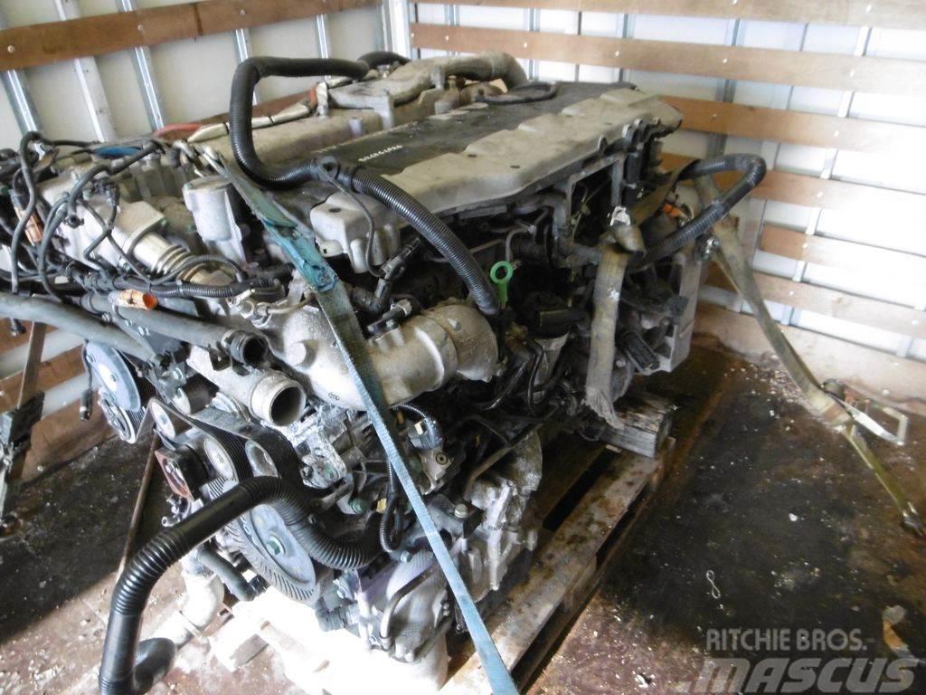 MAN TGA TGX engine, EURO4, EURO5, EURO6, D2676LF46, D2