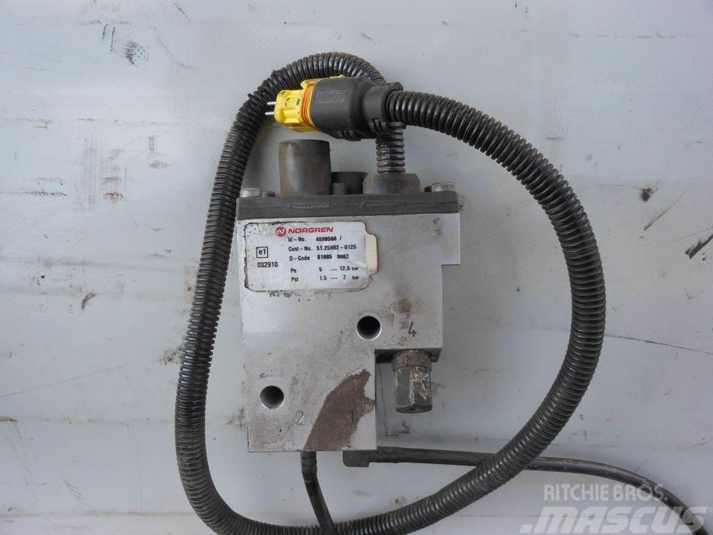 MAN TGX EURO5, exhaust elbow nozzle 4088568, 515216000