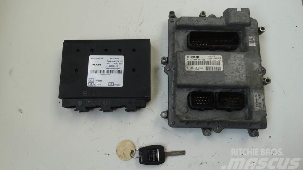 MAN TGX ignition set >>>>> BOSCH 0281020067 + PTM + ch