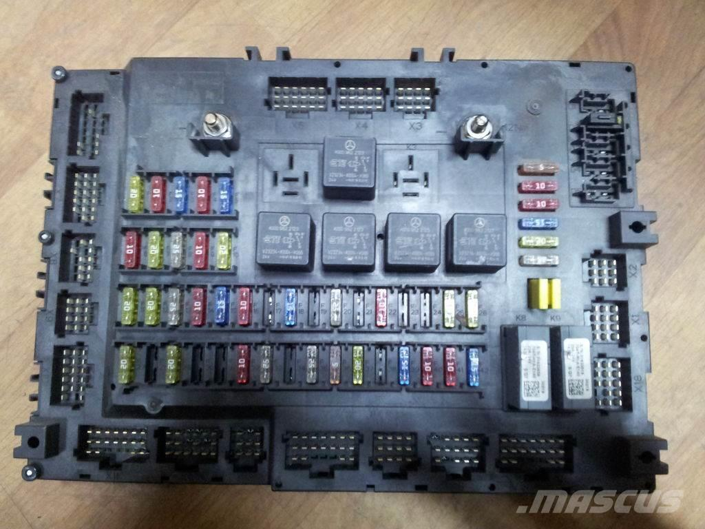 Mercedes-Benz actros MP4, EURO6 Grundmodul, fuse box, relay box,