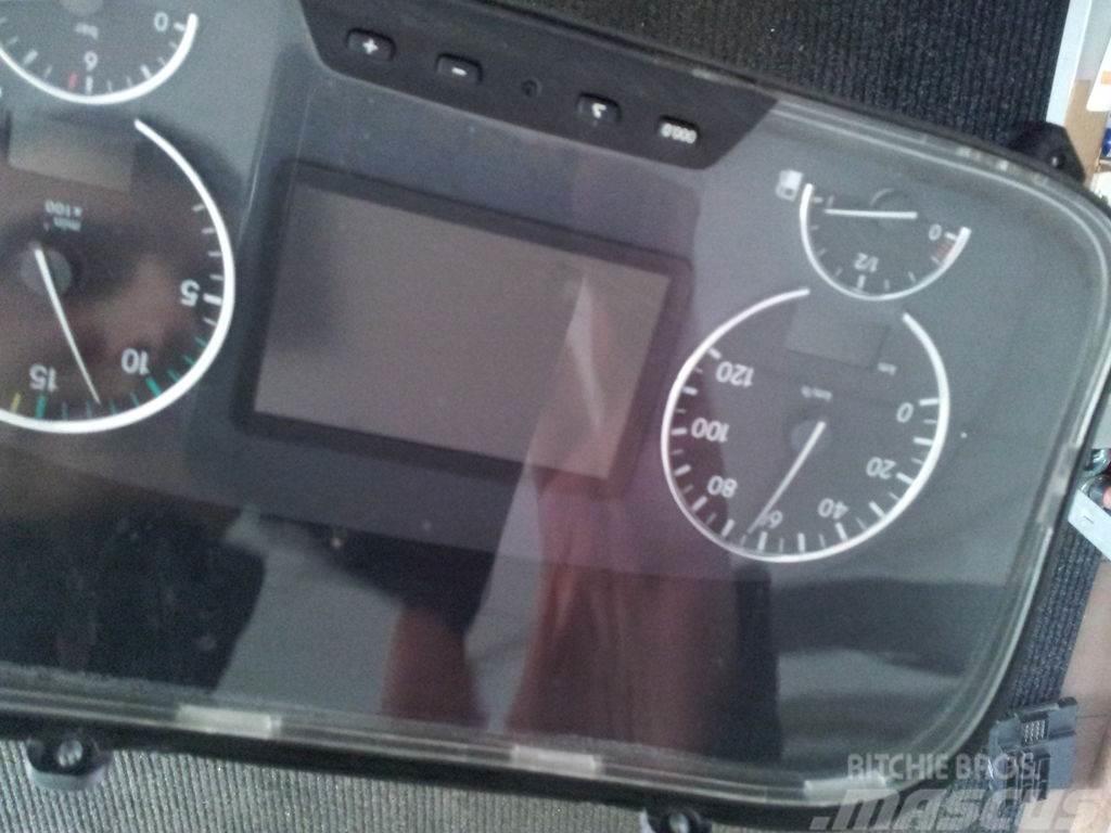 Mercedes-Benz actros, MP2, MP3 EURO3, EURO4, EURO5, instrument p